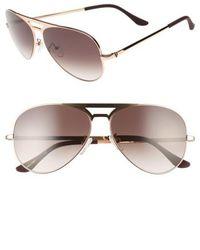 Valley Eyewear - 51mm Manubrium Aviator Sunglasses - Lyst