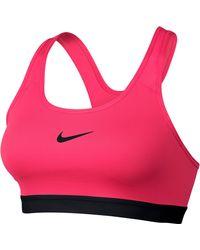 Nike - 'pro Classic' Dri-fit Padded Sports Bra - Lyst