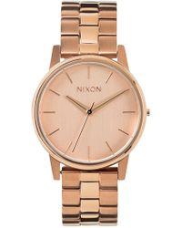 Nixon - 'the Small Kensington' Bracelet Watch - Lyst