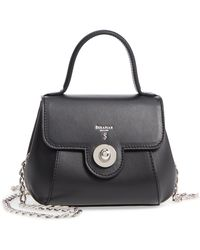 Stefano Serapian - Mini Gina Leather Top Handle Satchel - - Lyst
