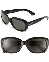 Ray-Ban - 'jackie Ohh' Polarized 58mm Sunglasses - Lyst