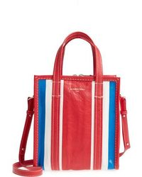 Balenciaga - Extra Small Bazar Leather Aj Shopper - - Lyst