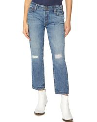 Sanctuary - Disrupt Ripped & Repaired Boyfriend Jeans - Lyst