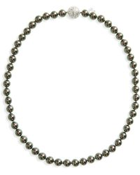 Majorica - 8mm Round Simulated Pearl Strand Necklace - Lyst