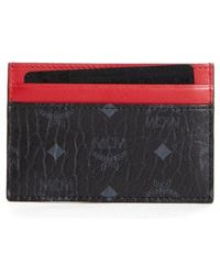 MCM - Faux Leather Card Case - - Lyst