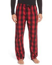 Polo Ralph Lauren | Plaid Cotton Lounge Pants | Lyst