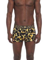 Versace - Baroque Print Boxer Shorts - Lyst