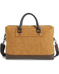 Ted Baker - Pitza Faux Leather Document Bag - Lyst