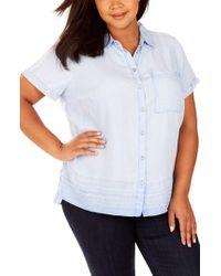 REBEL WILSON X ANGELS - Button Up Collar Shirt - Lyst