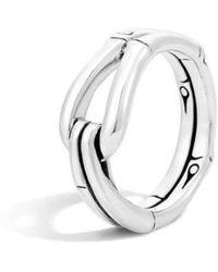 John Hardy - 'bamboo' Hook Ring - Lyst
