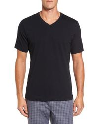 Hanro - Living V-neck T-shirt - Lyst