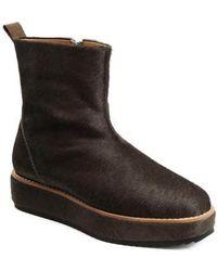Bill Blass - Penny Sutton Genuine Calf Hair Boot - Lyst