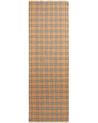 Burberry - Rainbow Stripe Vintage Check Scarf - Lyst