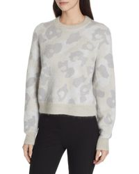 Rag & Bone - Leopard Spot Sweater - Lyst