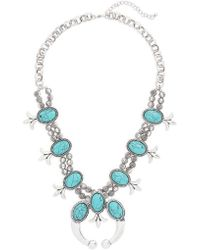 Cara - Western Necklace - Lyst