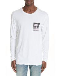 Ksubi - No Bomb Graphic Long Sleeve T-shirt - Lyst