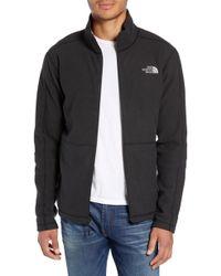 The North Face - Texture Cap Rock Fleece Jacket - Lyst