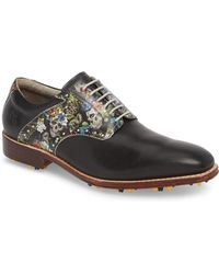 Robert Graham - Legend Wingtip Oxford With Removable Cleats - Lyst