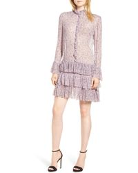 Zadig & Voltaire - Rebbie Goa Ruffle Floral Chiffon Dress - Lyst