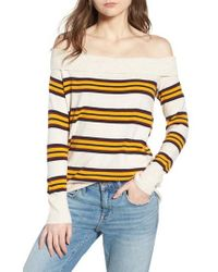 Treasure & Bond - Off The Shoulder Sweater - Lyst