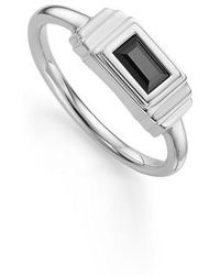 Monica Vinader - Baja Deco Semiprecious Stone Ring - Lyst