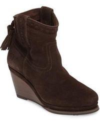 Ariat | Broadway Western Wedge Boot | Lyst