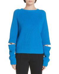 HUGO - Sailey Cotton Sweater - Lyst