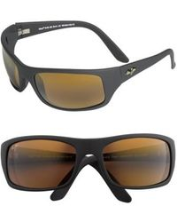 Maui Jim - 'peahi - Polarizedplus2' 65mm Sunglasses - Lyst