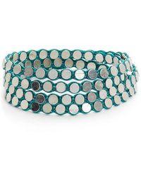Serefina - Disk Wrap Bracelet - Lyst