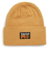 c67f7a2b6ca Lyst - Timberland Slouchy Pompom Beanie in Gray for Men