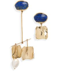 Faris - Badoula Mismatched Earrings - Lyst