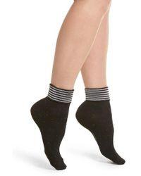 Richer Poorer | Tina Foldover Ankle Socks | Lyst