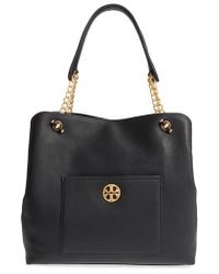 Tory Burch - Chelsea Slouchy Leather Tote - - Lyst
