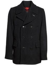 Pendleton - Maritime Wool Peacoat - Lyst