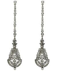 Ben-Amun | 'deco' Crystal Drop Earrings | Lyst