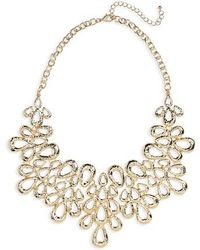 Cara - Petal Statement Necklace - Lyst