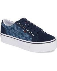 1c52187331 Tommy Hilfiger - Livvy Logo Hi-wall Sneaker - Lyst