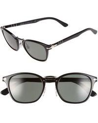 Persol - 51mm Polarized Retro Sunglasses - Lyst