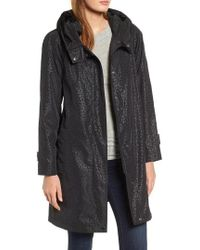 Gallery - Pleated Collar Raincoat - Lyst