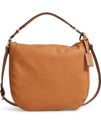 95a88866fddf Lyst - Sole Society Zypa Faux Leather Barrel Satchel