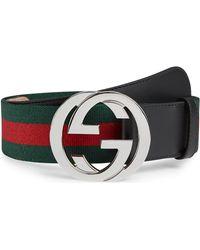 c705aec224f99d Gucci Belts - Men's Leather Belts - Lyst
