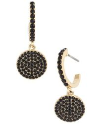 Kate Spade - Shine On Pave Drop Earrings - Lyst