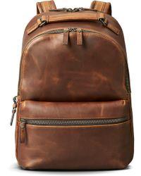 Shinola - Runwell Leather Backpack - - Lyst