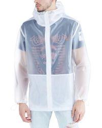 True Religion - Translucent Rain Jacket - Lyst
