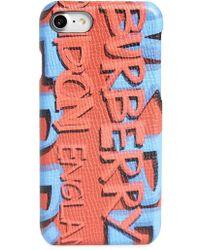 Burberry | Rufus Graffiti Print Iphone 7/8 Case | Lyst