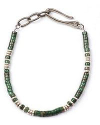 George Frost - Luck Morse Bracelet - Lyst
