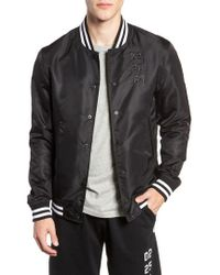 Reigning Champ - Fight Night Trim Fit Stadium Jacket - Lyst