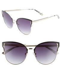 Chelsea28 - Hazel 57mm Cat Eye Sunglasses - Lyst