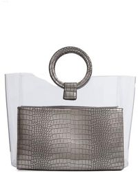 Vince Camuto - Clea Faux Leather Tote - Metallic - Lyst
