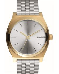 Nixon - 'time Teller' Bracelet Watch - Lyst